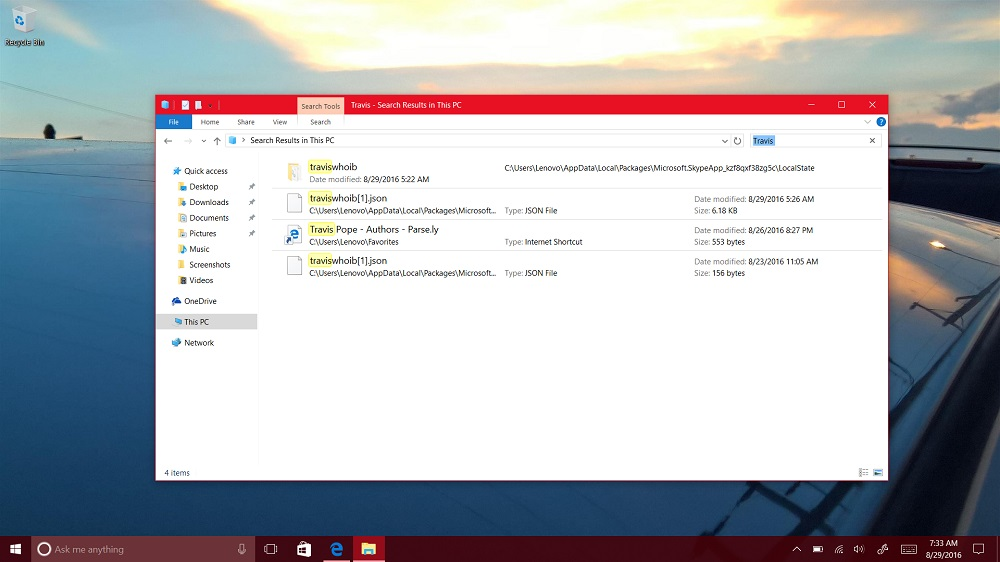 How to Search for Files in Windows 10