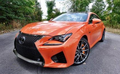 Lexus RC F Review Performance - 5