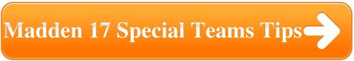 Madden 17 Special Teams Tips