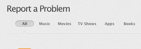 Report iTunes App Problem Refund Request - 0