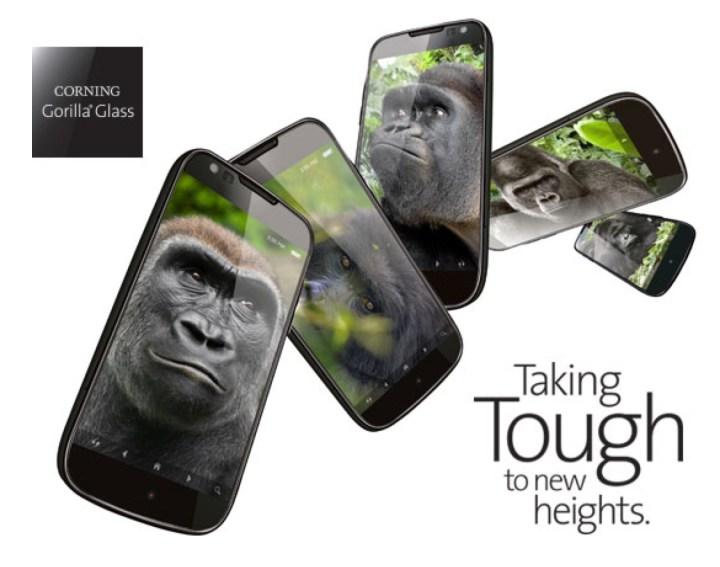Strong Gorilla Glass 5 Display