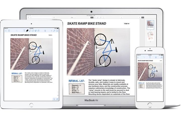 notability on mac ipad iphone