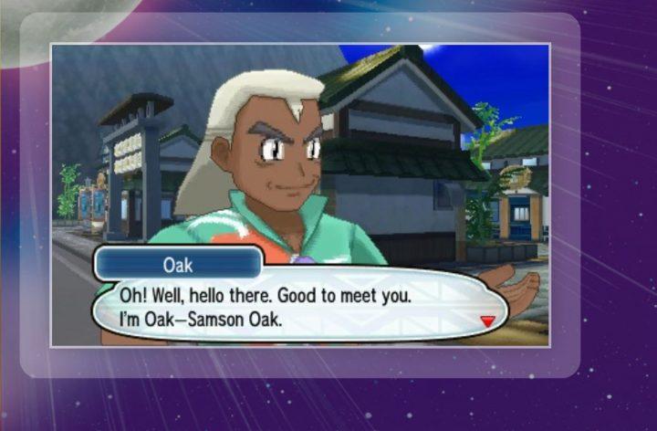 Professor Oak, Samson Oak