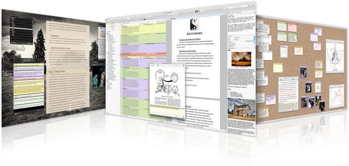 scrivener on mac and ipad