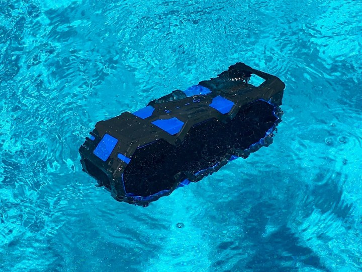The Super Life Jacket is waterproof and it floats.