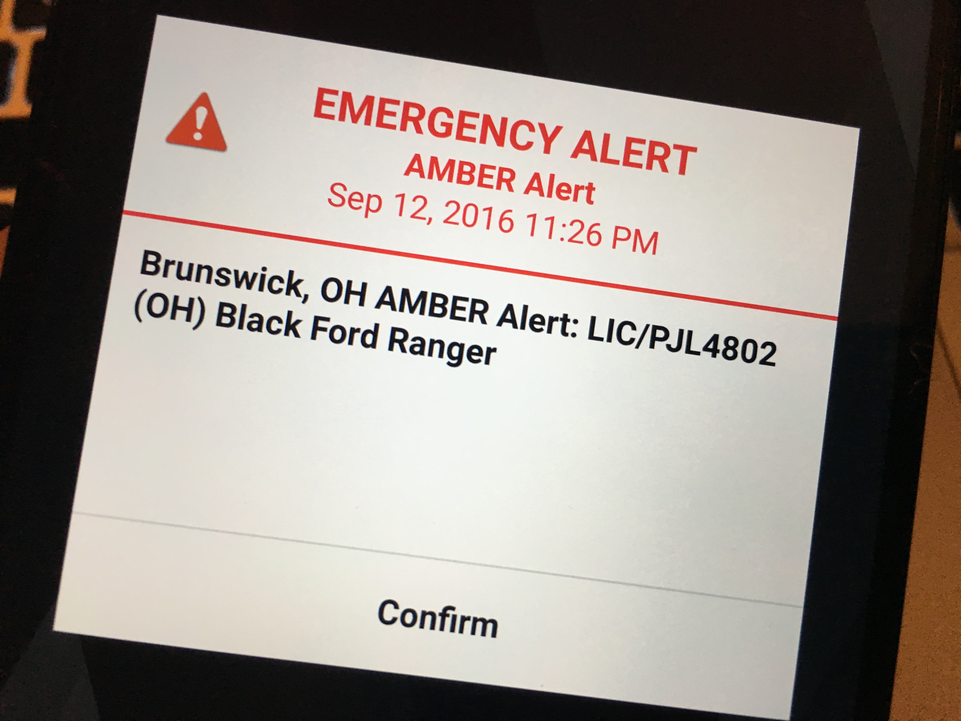 What to Do When You Get an Android or iPhone Amber Alert