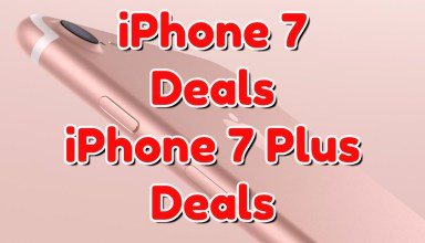 The best iPhone 7 deals and iPhone 7 Plus deals you can find.