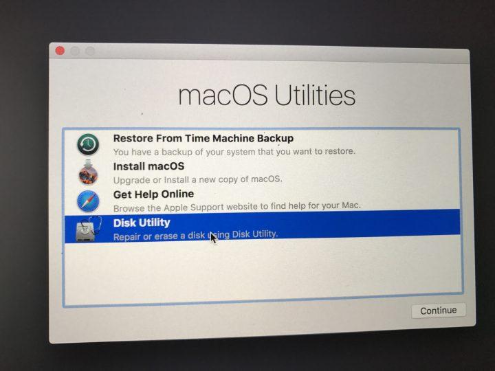 Clean Install macOS Sierra - 2