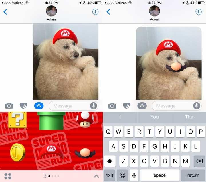 How to use IMessage stickers in iOS 10.