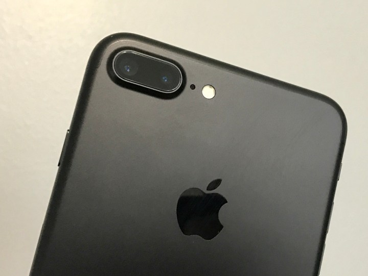 The iPhone 7 Plus zoom uses the two cameras on the back of the new iPhone.