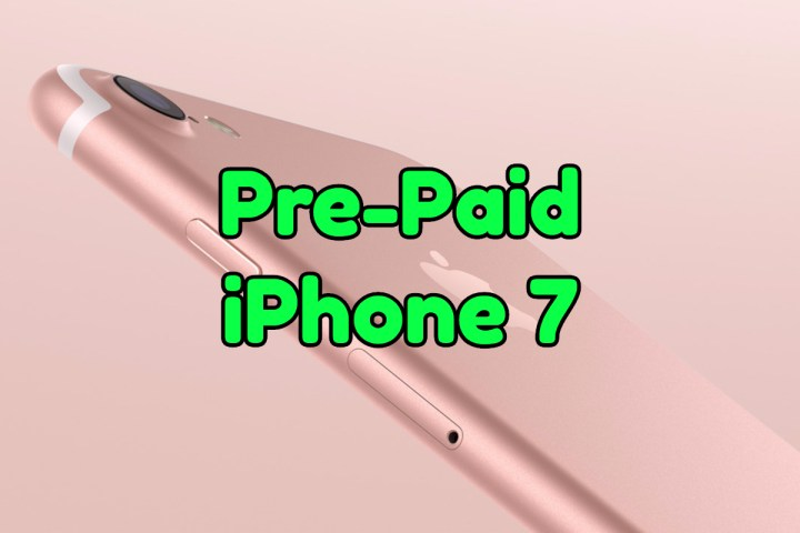 Pre-Paid iPhone 7 Plans