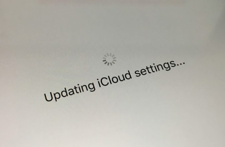how to get to icloud settings on iphone