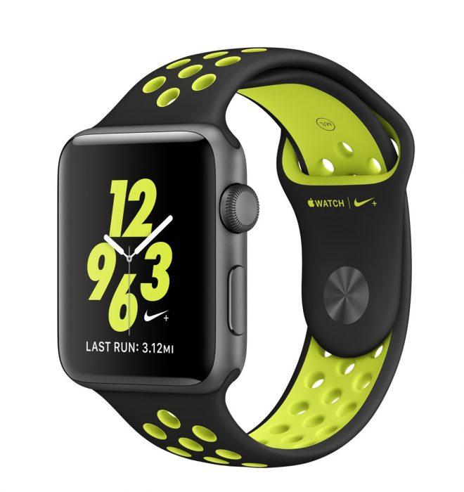 Apple offers a Nike branded Apple Watch Series 2.