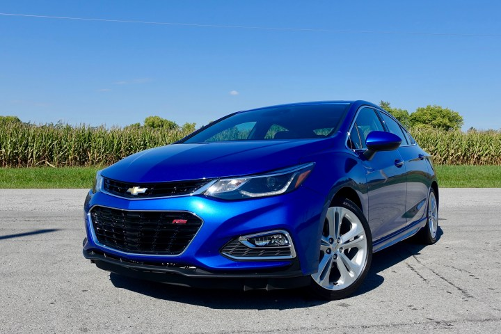 The Chevy Cruze is fun to drive and is easy on your wallet with good fuel economy.
