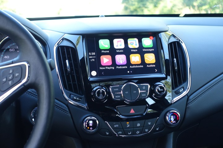 The Chevy Cruze is packed with technology, but it doesn't overwhelm you if you don't want to use it all.