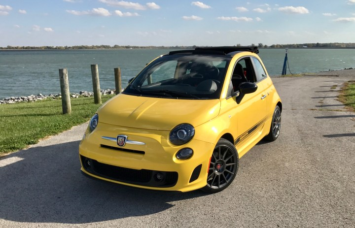 The Fiat 500 Abarth is fun to drive, although it has a few quirks.