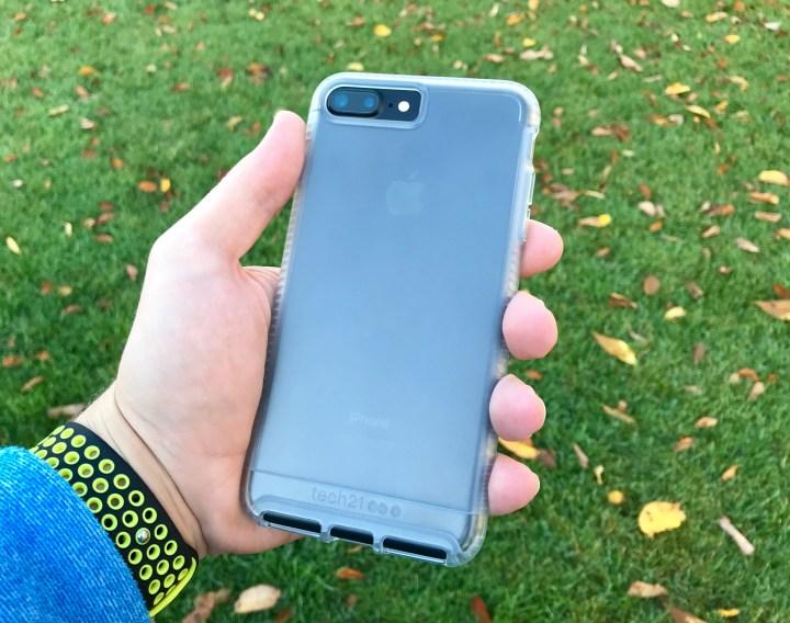 tech21 Impact Clear iPhone 7 Plus case