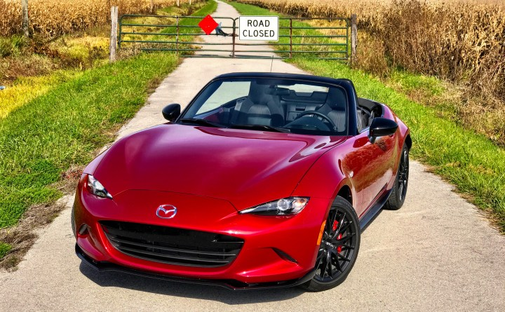 The 2017 Mazda MX-5 Miata Club is a blast to drive.
