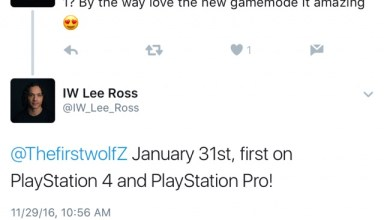 The deleted tweet that outs the PS4 Infinite Warfare DLC 1 release date.