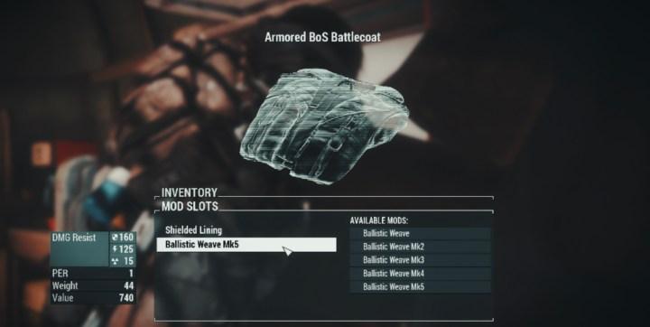Craft Maxson Battlecoat