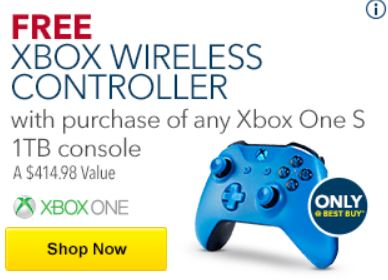 free-xbox-one-s-wireless-controller