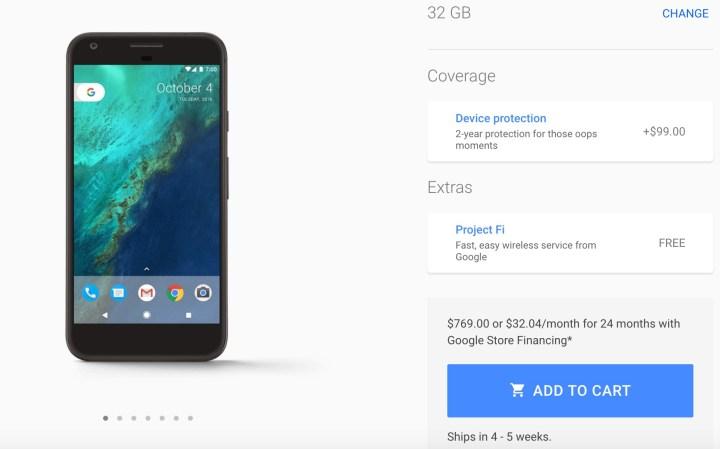 google-store-pixel