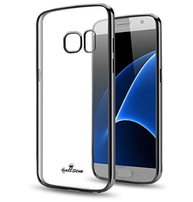 Galaxy S7 Clear Bumper Case