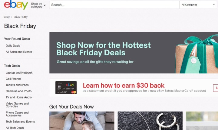 eBay Black Friday 2016 Ad