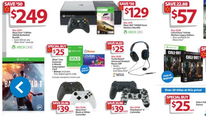 Best deals on xbox one black friday