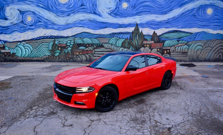 The 2016 Dodge Charger SXT strikes a bold pose anywhere you go.