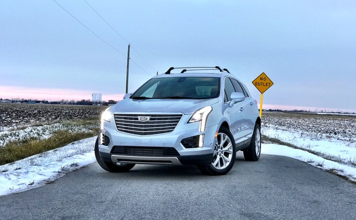 The 2017 Cadillac XT5 looks great from all angles.