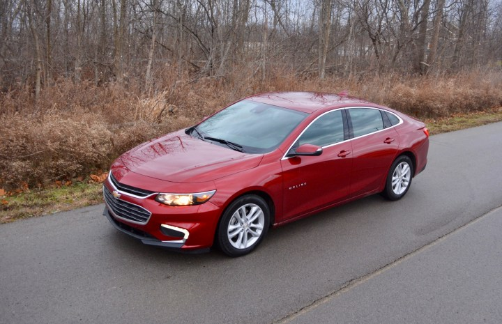 The 2017 Chevy Malibu Hybrid delivers great fuel economy.