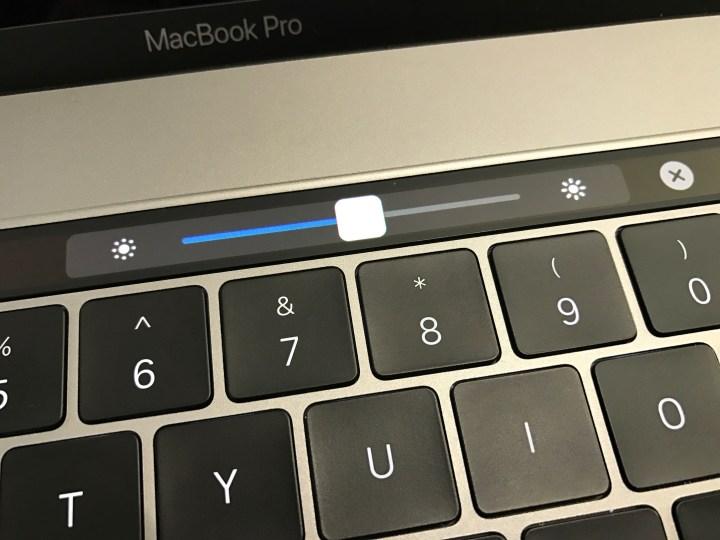 lower the screen brightness for better MacBook Pro battery life.