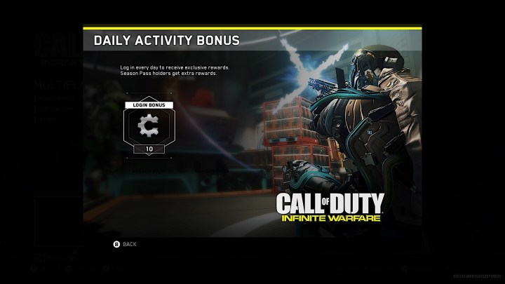 If you buy the Season Pass you save $10 and you get double the daily login bonus.