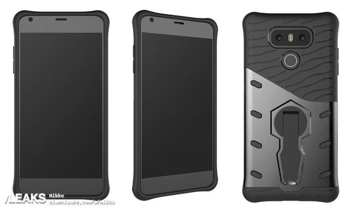 Leak claiming to be the LG G6 in a case