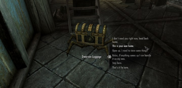 Dwarven Luggage
