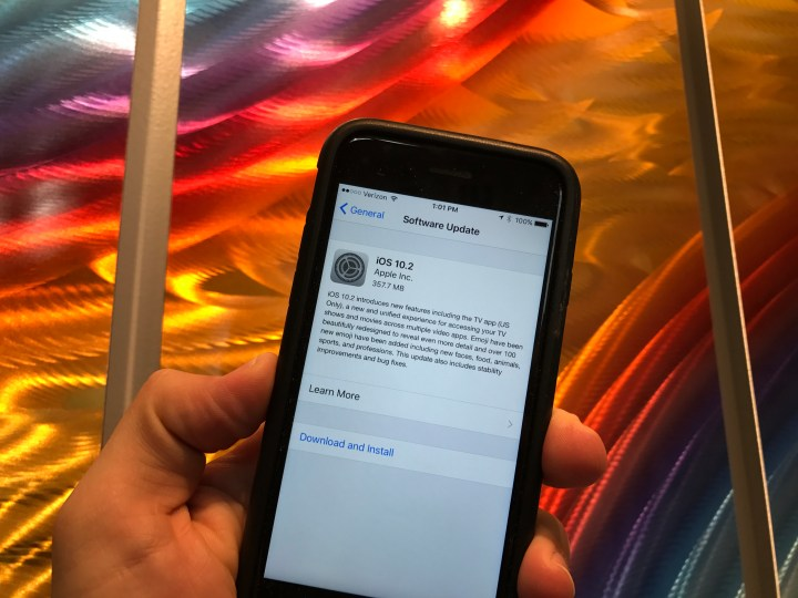 What's new in iOS 10.2 for iPhone and iPad.