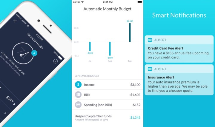 Albert Budget App