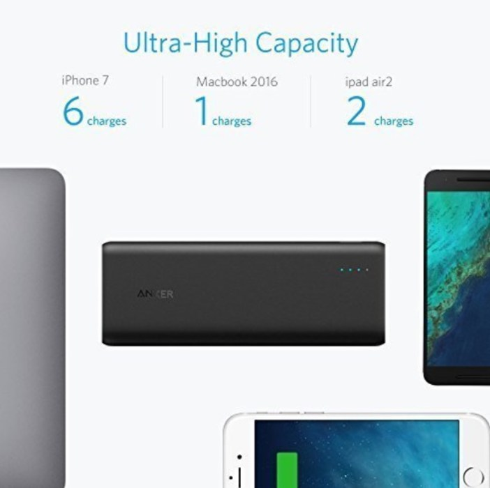 Anker PowerCore Speed 20,000 mAh with Power Delivery