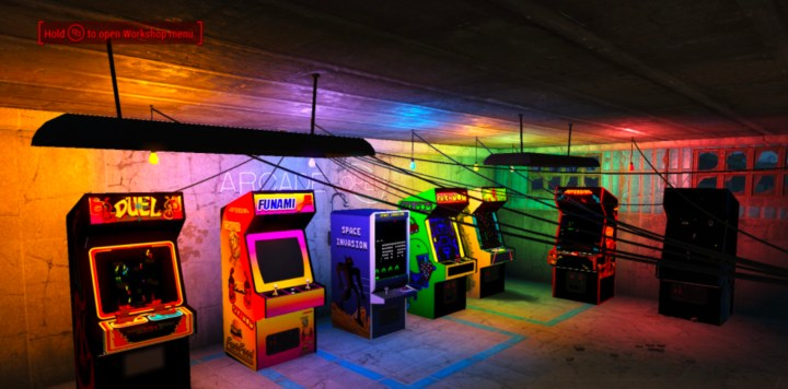80's Arcade Cabinets