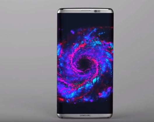 Galaxy S8 fan-made render