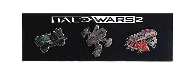 Halo Wars 2 Standard Edition Pin Set.