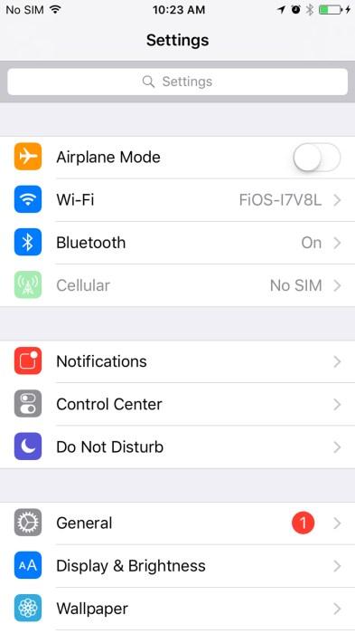 Hey Siri in iOS 103