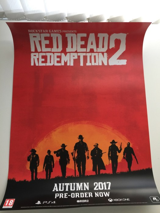 Red Dead Redemption 2 poster.