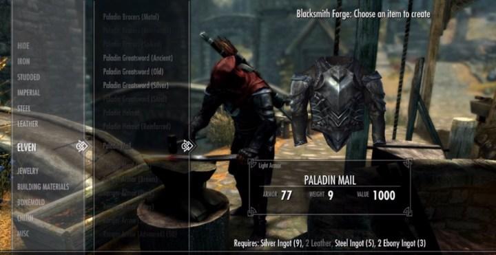 Paladin, Ranger & Mercenary Armory