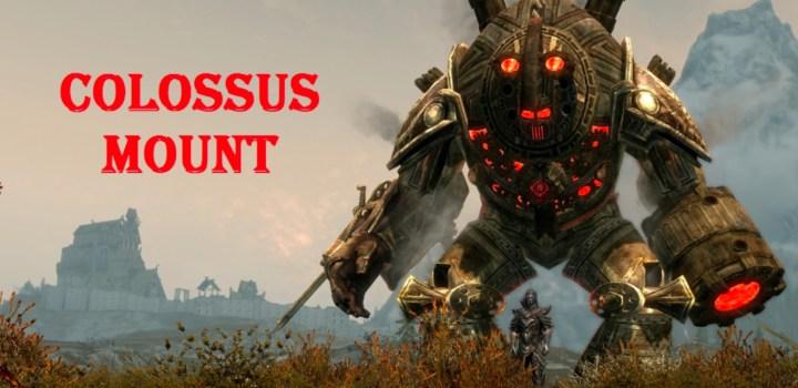 Dwarven Colossus Mounts
