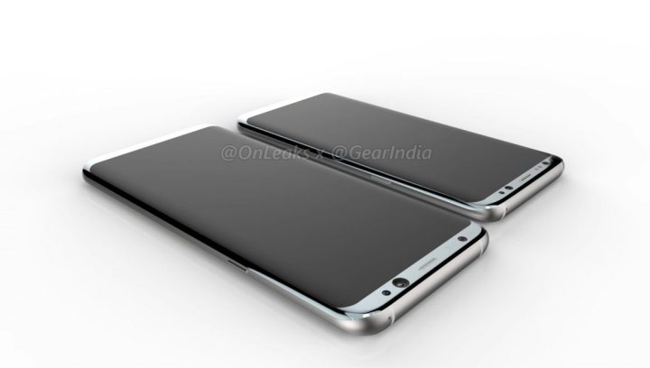 Galaxy S8 video render