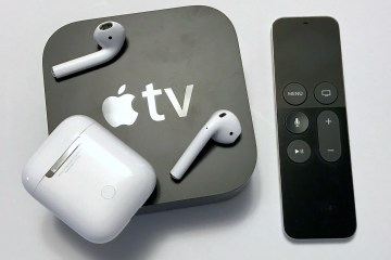 pari airpods with apple tv