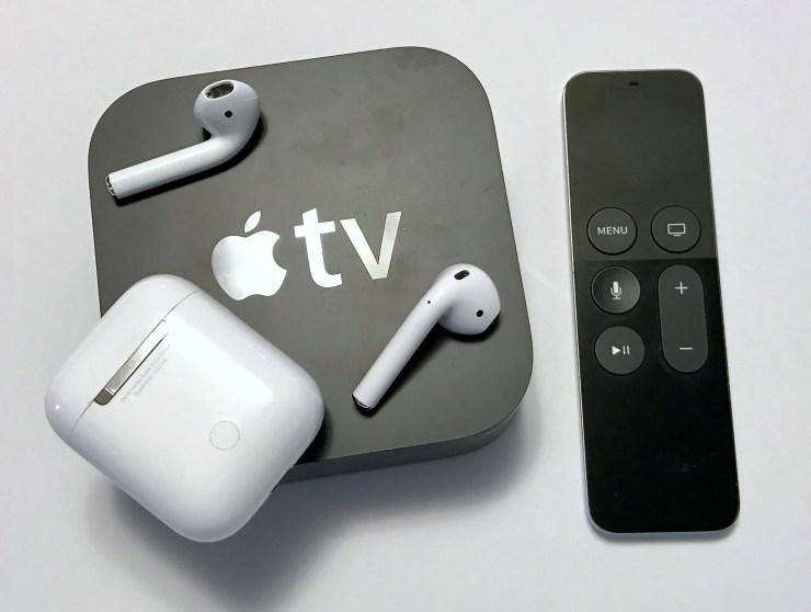 pari airpods with apple tv