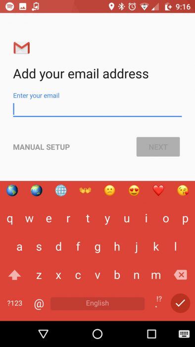 outlook for android how to add home address